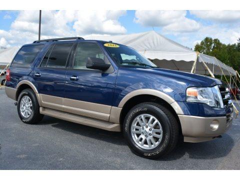 Dark Blue Pearl Metallic 2011 Ford Expedition XLT 4x4