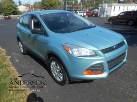 Frosted Glass Metallic 2013 Ford Escape S