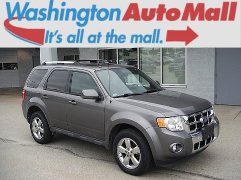 Sterling Gray Metallic 2012 Ford Escape Limited V6 4WD