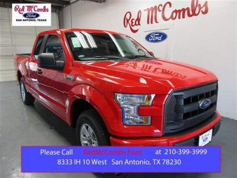 Race Red 2015 Ford F150 XL SuperCab