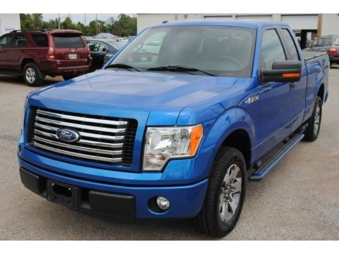Blue Flame Metallic 2011 Ford F150 XLT SuperCab