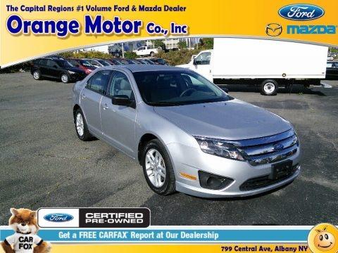 Ingot Silver Metallic 2012 Ford Fusion S