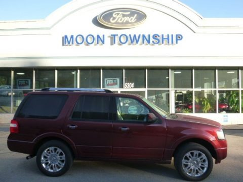 Autumn Red Metallic 2012 Ford Expedition Limited 4x4