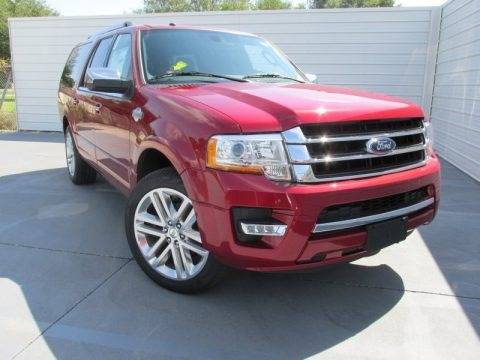 Ruby Red Metallic 2016 Ford Expedition EL King Ranch