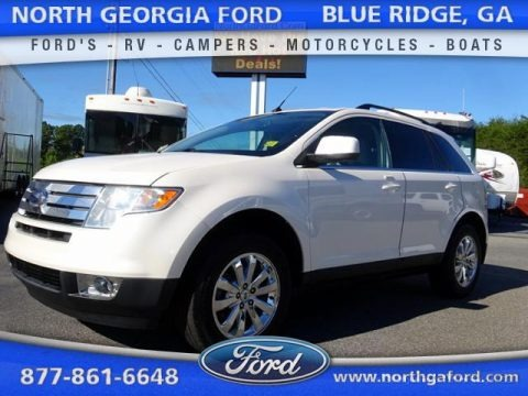 White Suede 2010 Ford Edge Limited AWD