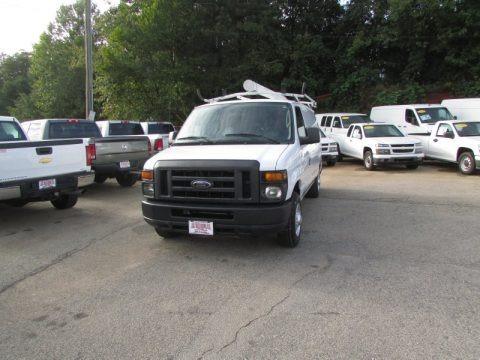 Oxford White 2011 Ford E Series Van E150 Commercial