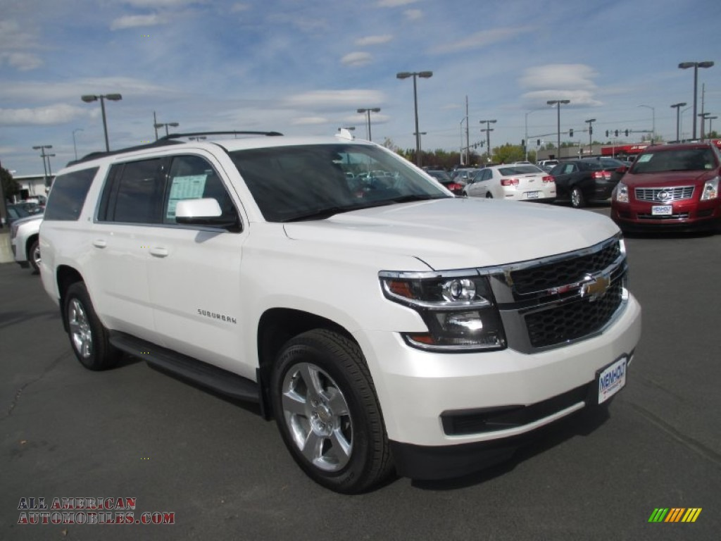2016 chevrolet suburban lt 4wd in iridescent pearl tricoat 139430 all american automobiles. Black Bedroom Furniture Sets. Home Design Ideas