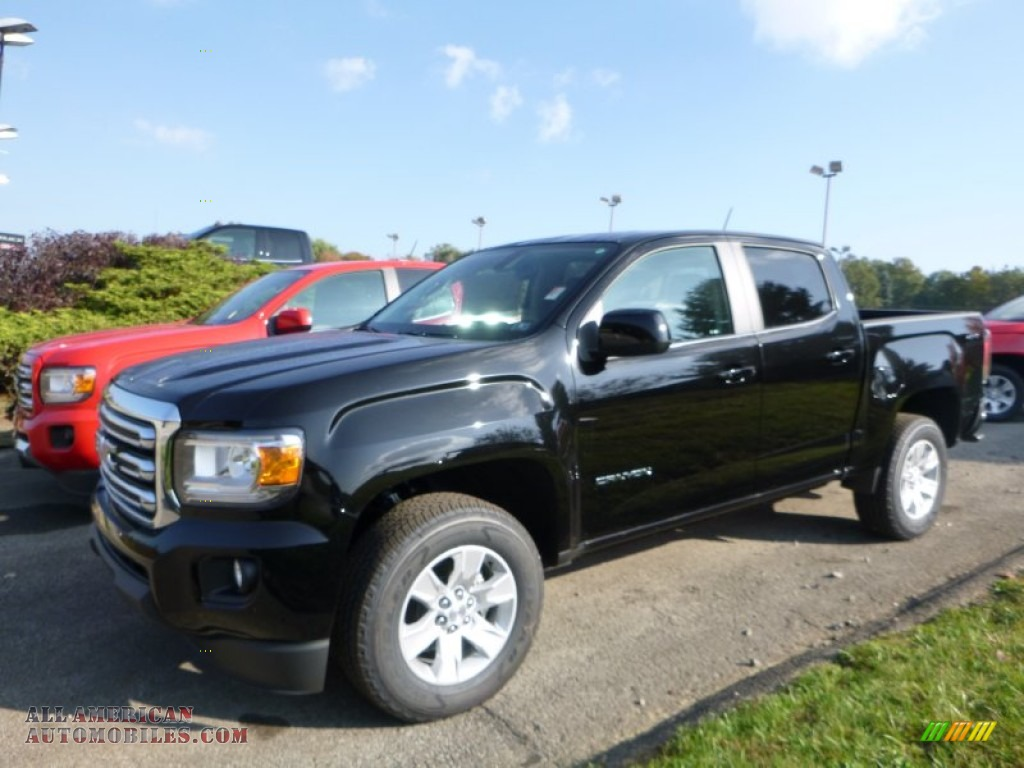 2016 gmc canyon sle crew cab 4x4 in onyx black 113500 all american automobiles buy. Black Bedroom Furniture Sets. Home Design Ideas
