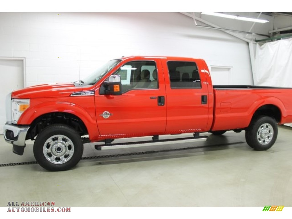 Ron Lewis Jeep >> 2016 Ford F250 Super Duty XLT Crew Cab 4x4 in Race Red - A63872 | All American Automobiles - Buy ...