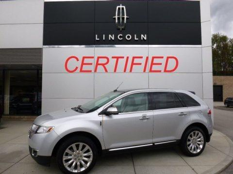 Ingot Silver 2013 Lincoln MKX AWD