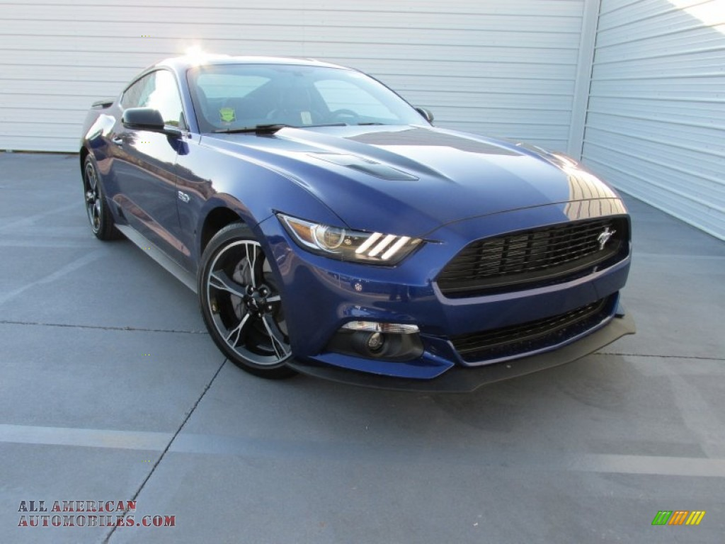 2016 ford mustang gt cs california special coupe in deep impact blue metallic 220620 all. Black Bedroom Furniture Sets. Home Design Ideas
