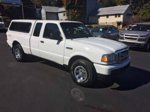 Oxford White 2009 Ford Ranger XLT SuperCab 4x4