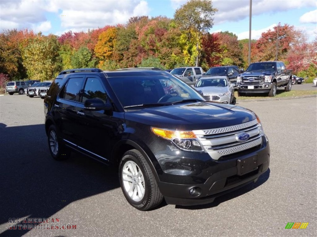 2014 ford explorer xlt 4wd in tuxedo black a30393 all american automobiles buy american. Black Bedroom Furniture Sets. Home Design Ideas
