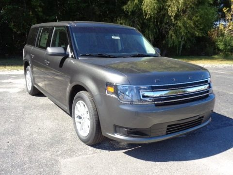 Magnetic Metallic 2015 Ford Flex SE