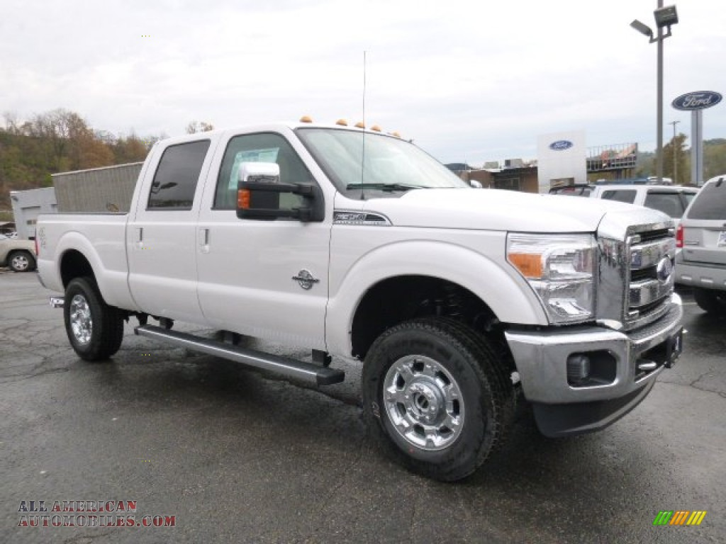 2016 ford f350 super duty lariat crew cab 4x4 in white. Black Bedroom Furniture Sets. Home Design Ideas