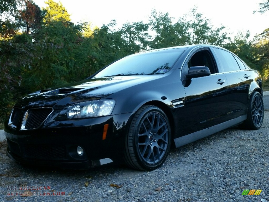 2009 pontiac g8 gt in panther black 158093 all american automobiles buy american cars for. Black Bedroom Furniture Sets. Home Design Ideas