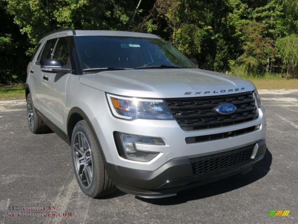 2016 ford explorer sport 4wd in ingot silver metallic b09070 all american automobiles buy. Black Bedroom Furniture Sets. Home Design Ideas