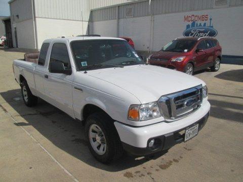 Oxford White 2011 Ford Ranger XLT SuperCab