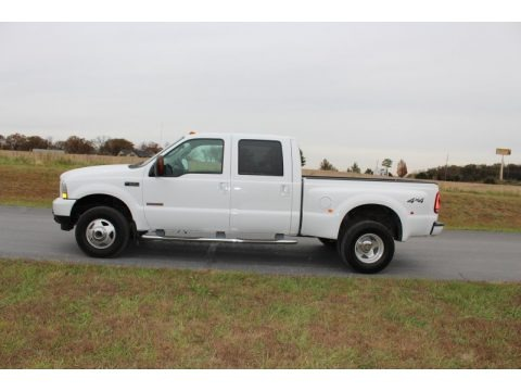 Oxford White 2003 Ford F350 Super Duty XLT Crew Cab 4x4 Dually