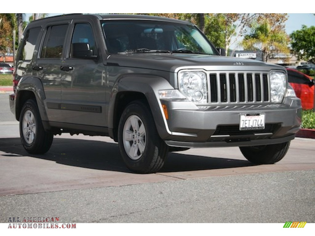 2012 jeep liberty sport in mineral gray metallic 115770 all american automobiles buy. Black Bedroom Furniture Sets. Home Design Ideas