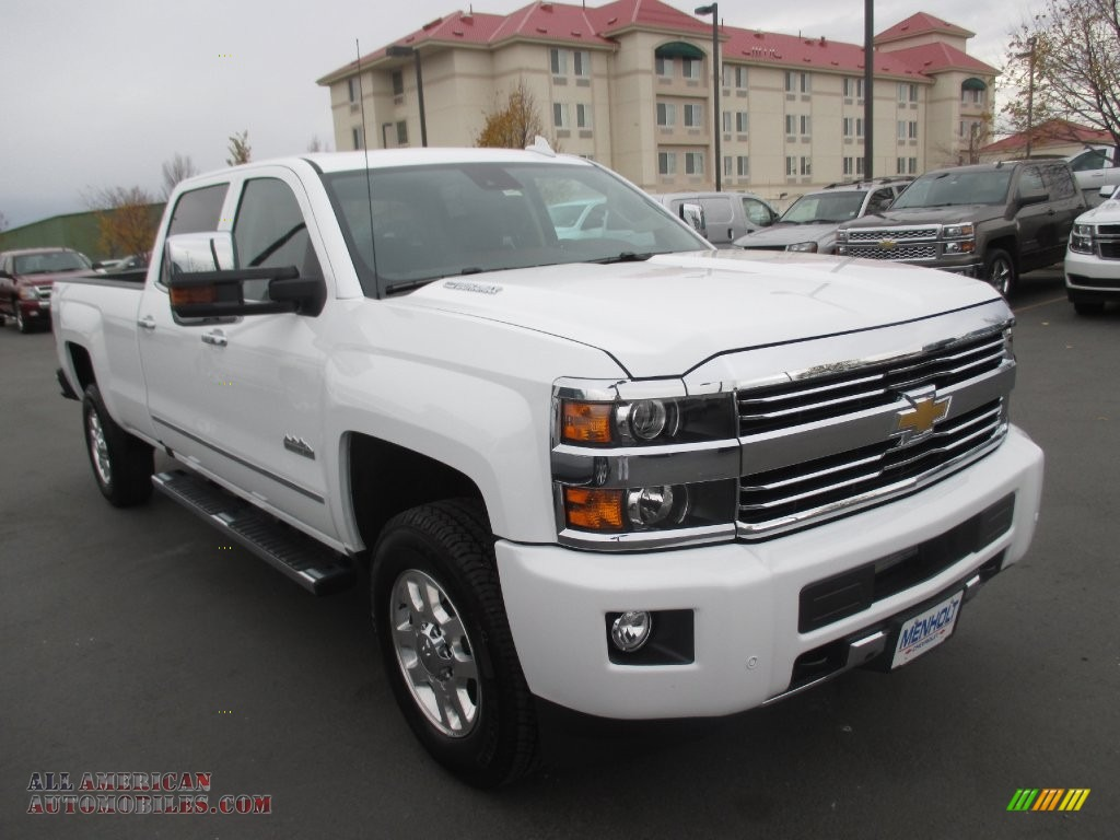 2015 chevrolet silverado 3500hd high country crew cab 4x4 in summit white 679099 all. Black Bedroom Furniture Sets. Home Design Ideas