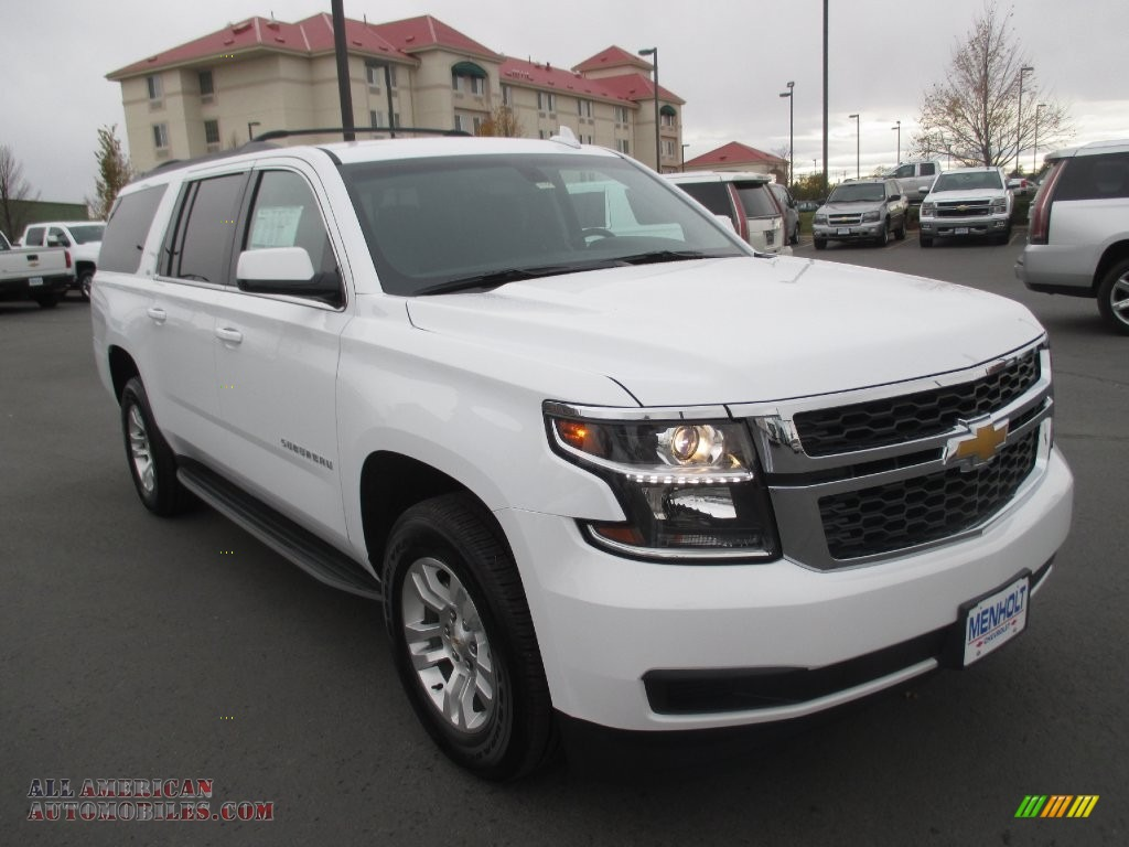 2016 chevrolet suburban ls 4wd in summit white 174831. Black Bedroom Furniture Sets. Home Design Ideas