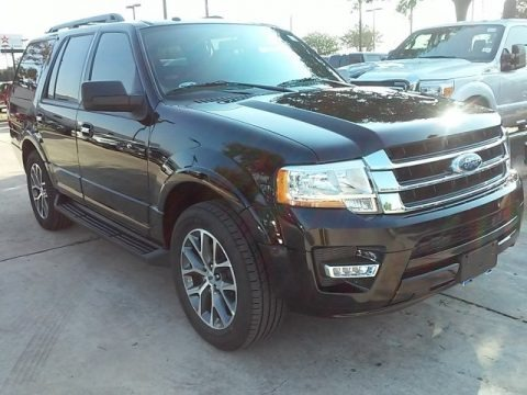 Shadow Black Metallic 2016 Ford Expedition XLT
