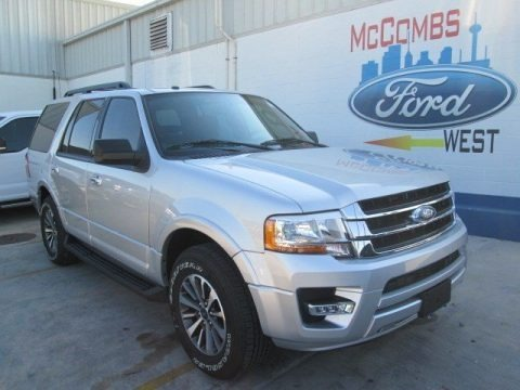 Ingot Silver Metallic 2016 Ford Expedition XLT