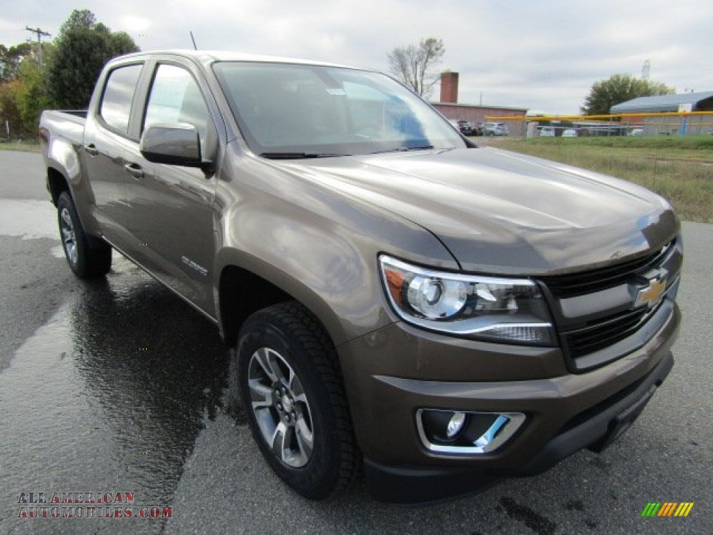 2016 chevrolet colorado z71 crew cab in brownstone metallic 154756 all american automobiles. Black Bedroom Furniture Sets. Home Design Ideas