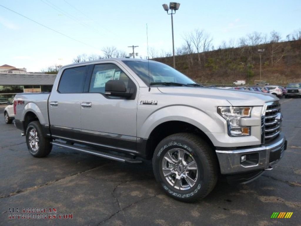 2016 Ford F150 Lariat For Sale >> 2016 Ford F150 XL SuperCrew 4x4 in Ingot Silver photo #5 - A09982   All American Automobiles ...