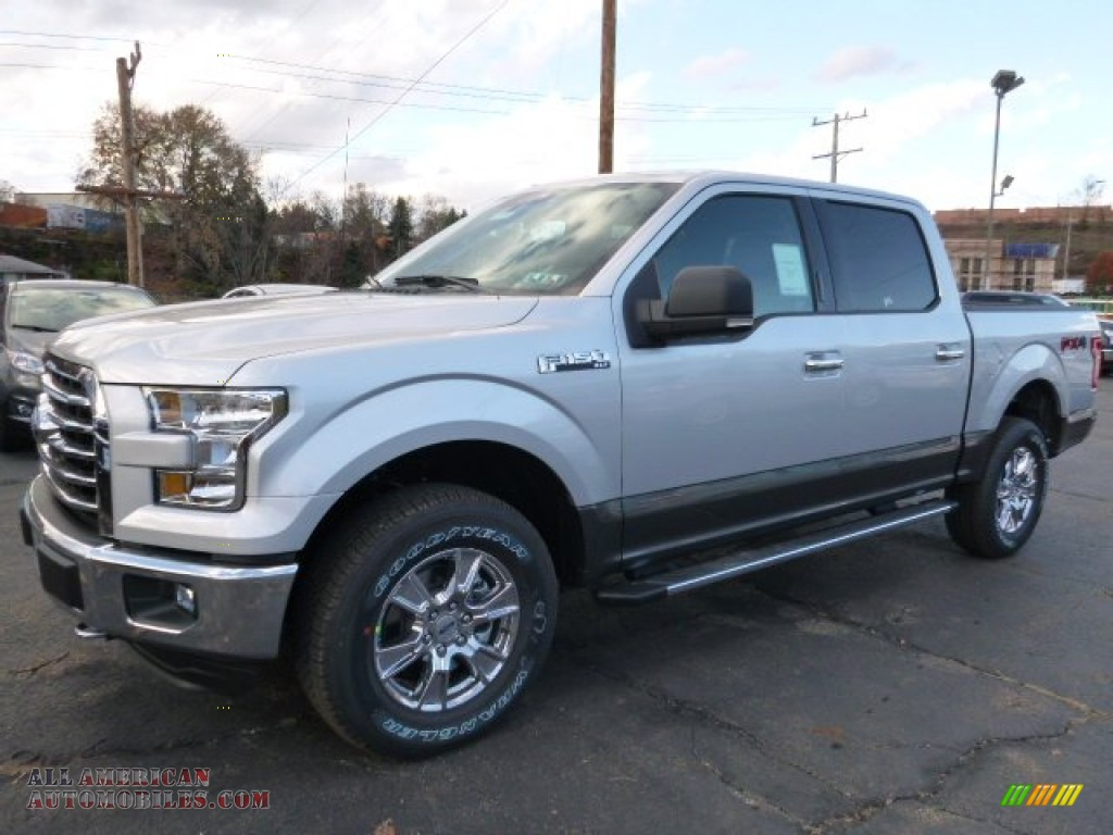 2016 ford f150 xl supercrew 4x4 in ingot silver photo 5 a09982 all american automobiles