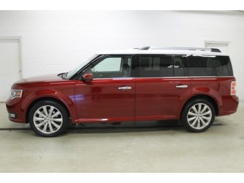 Ruby Red Metallic 2015 Ford Flex Limited AWD