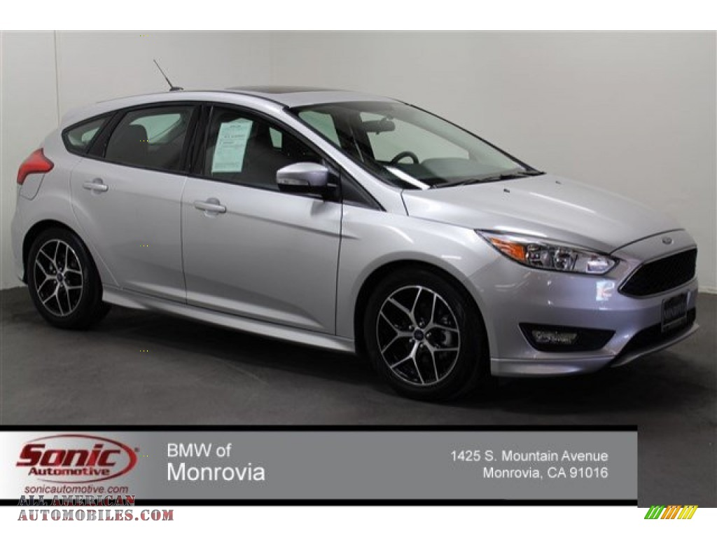 2015 ford focus se hatchback in ingot silver metallic 261779 all american automobiles buy. Black Bedroom Furniture Sets. Home Design Ideas