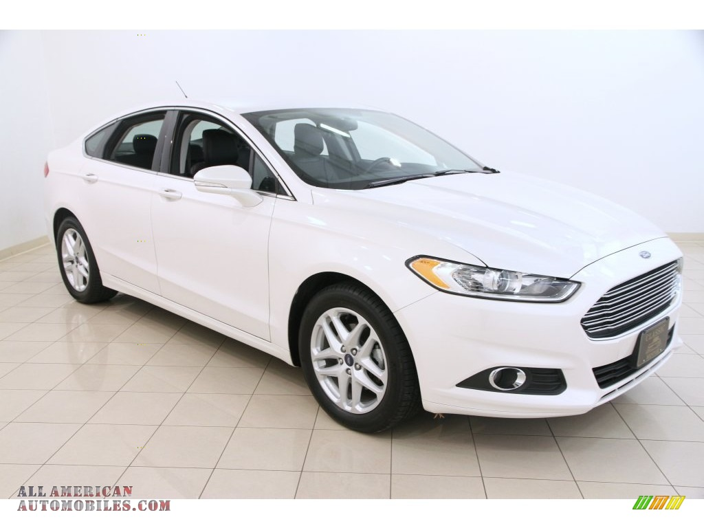 2014 ford fusion se ecoboost in white platinum 211018 all american automobiles buy. Black Bedroom Furniture Sets. Home Design Ideas