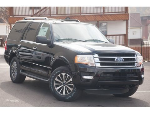 Shadow Black Metallic 2016 Ford Expedition XLT 4x4