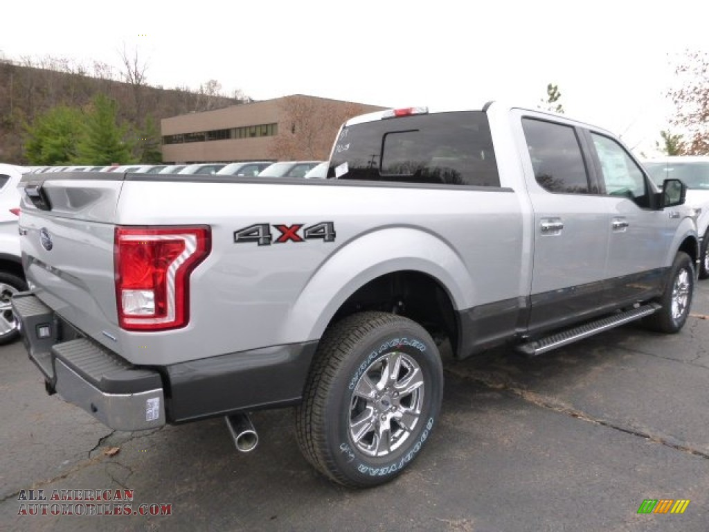 2016 Ford F150 XLT SuperCrew 4x4 in Ingot Silver photo #2 ...