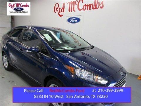 Kona Blue Metallic 2016 Ford Fiesta SE Sedan