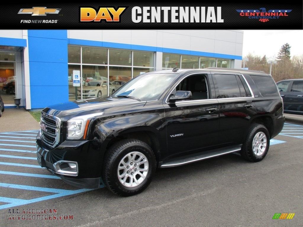 2015 gmc yukon slt 4wd in onyx black 250107 all american automobiles buy american cars for. Black Bedroom Furniture Sets. Home Design Ideas
