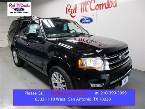 Shadow Black Metallic 2016 Ford Expedition Limited