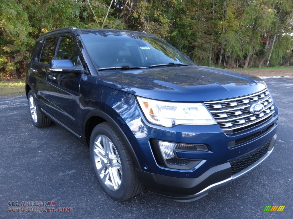 2016 Ford Explorer Limited In Blue Jeans Metallic Photo