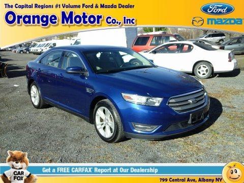Deep Impact Blue Metallic 2013 Ford Taurus SEL