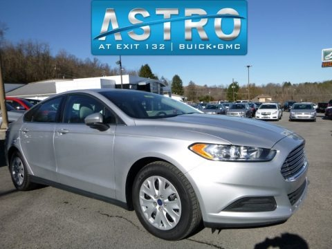 Ingot Silver 2014 Ford Fusion S