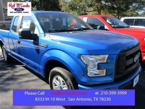 Blue Flame 2016 Ford F150 XL SuperCab