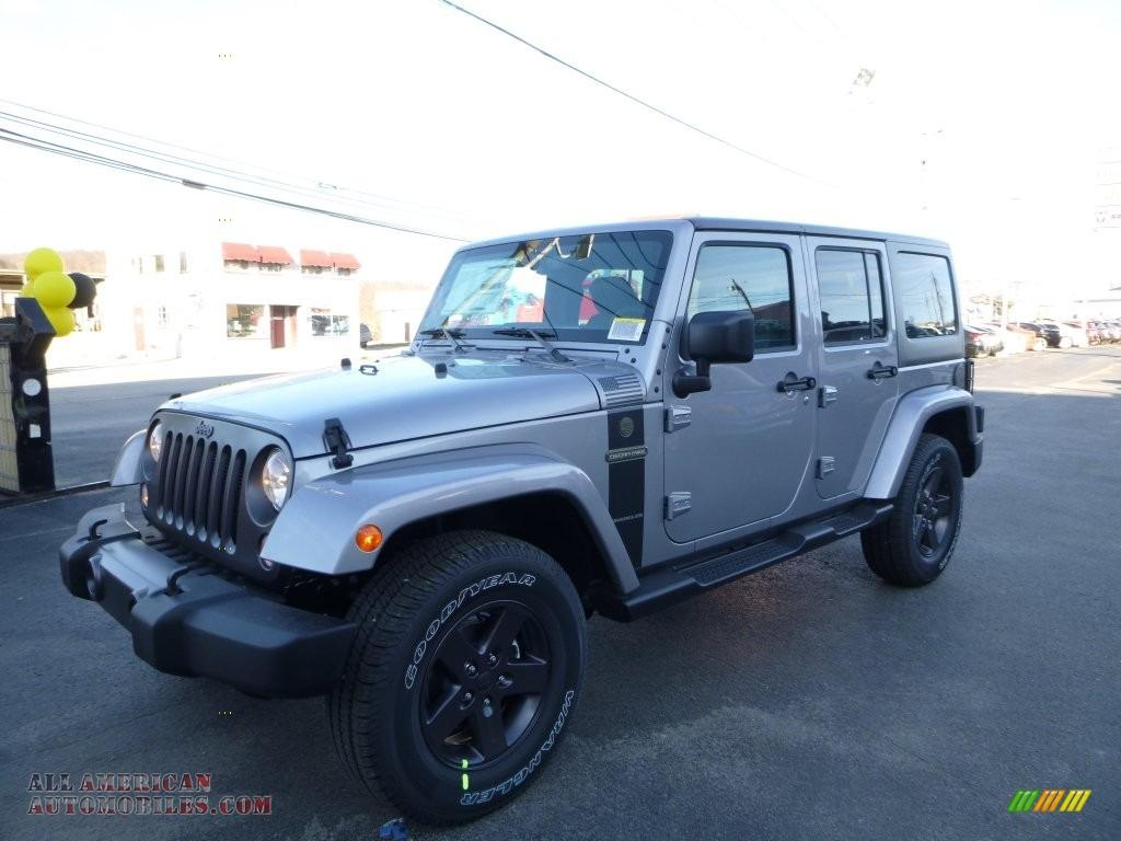 2016 jeep wrangler unlimited sport 4x4 in billet silver metallic 152866 all american. Black Bedroom Furniture Sets. Home Design Ideas
