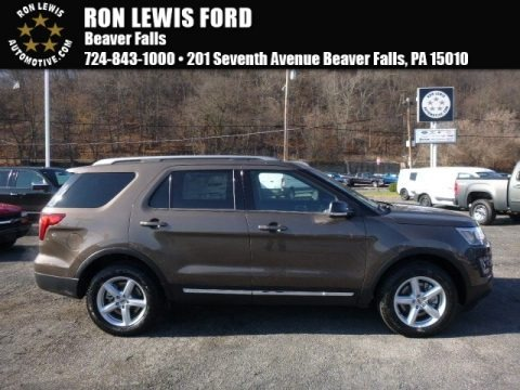 Caribou Metallic 2016 Ford Explorer XLT 4WD
