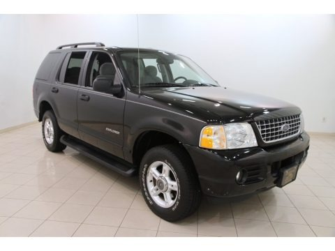 Black 2004 Ford Explorer XLT 4x4