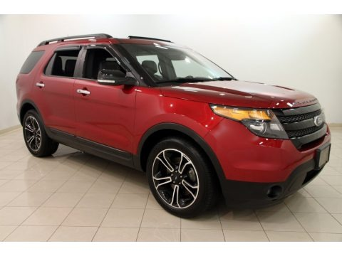 Ruby Red Metallic 2013 Ford Explorer Sport 4WD