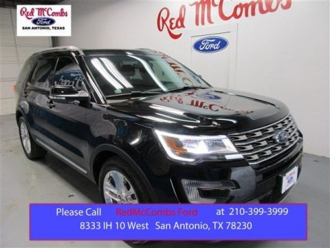 Shadow Black 2016 Ford Explorer XLT