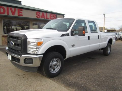 Oxford White 2011 Ford F350 Super Duty XL Crew Cab 4x4