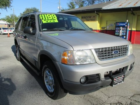 Silver Birch Metallic 2003 Ford Explorer XLT